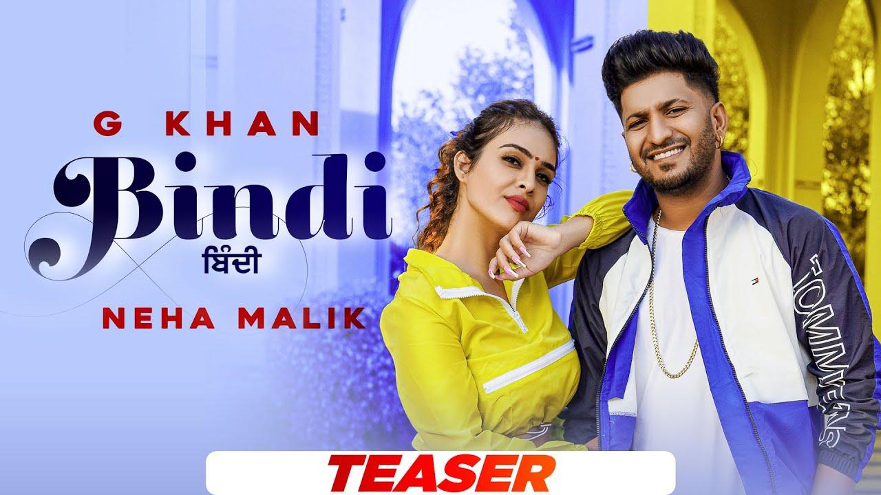 Bindi(Teaser) G Khanft Neha Malik   Garry Sandhu  Latest Punjabi Songs 2021   Speed Records