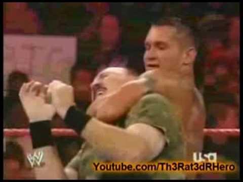 Randy Orton Vs. Sgt. Slaughter - YouTube