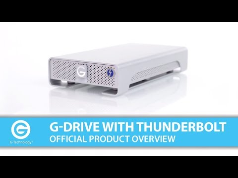 G-DRIVE with Thunderbolt   Official Product Overview
