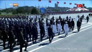 Video TSK Bandosu Tören Yürüyüşleri - 30 Ağustos Zafer Bayramı - TRT Avaz download MP3, 3GP, MP4, WEBM, AVI, FLV Desember 2017