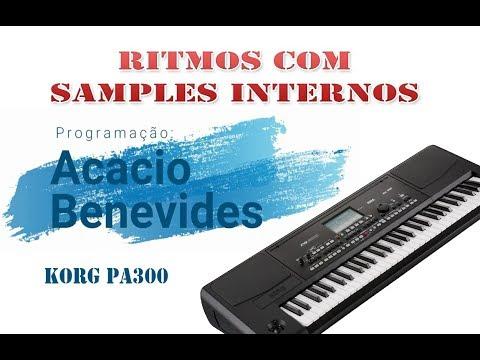 Ritmos Korg Sampleados Pa300 Pa600 Pa900 E Pa3x