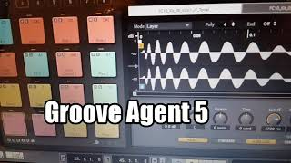 Groove Agent 5 demo