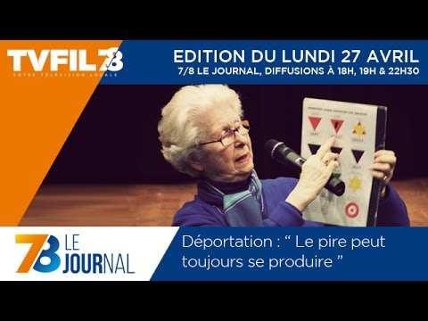 7/8 Le journal – Edition du lundi 27 avril 2015