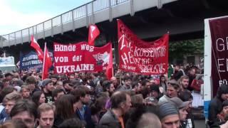 """1.Mai 2014 Maifeier in Berlin -Kreuzberg """"SO 36 """" mitten drin"""