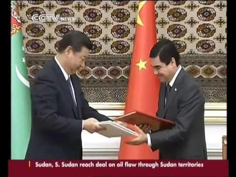 Xi Jinping Visit Turkmenistan