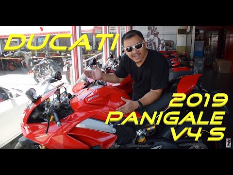 Shop Talk: Ducati 2019 Panigale V4 S | Panigale 959 | Supersport S