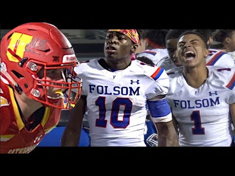 🔥🔥 Overtime Thriller !! Cali D1-AA Championship Game | Folsom vs Cathedral Catholic (San Diego)