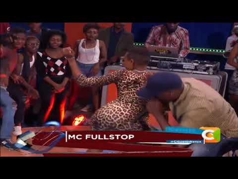 MC Fullstop A.k.a John Maina Live 10 Over 10 CITIZEN TV