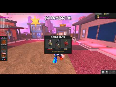 {Code in Murder Mystery X} and playing with my friend