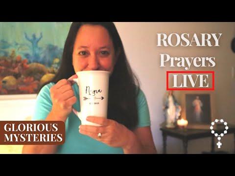 Pray LIVE the Rosary Catholic prayers of the Glorious Mysteries