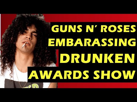 Guns N' Roses  Duff and Slash's Hilarious American Music Awards Appearance Appetite for Destruction
