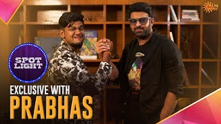 Spotlight on Prabhas   Full Interview   Sun Music