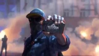 Watch Dogs 2 — Первый русский трейлер! Украсть сервер с помощю квадрокоптера)))