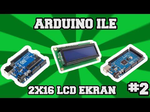 2x16 LCD Ekran Ve Arduino #2