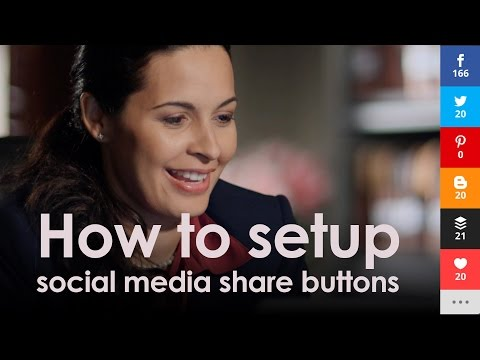 Elegant themes: How to setup social media share buttons