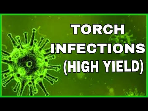 TORCH INFECTIONS  ( pediatrics high yield points) | MADE SIMPLE😃