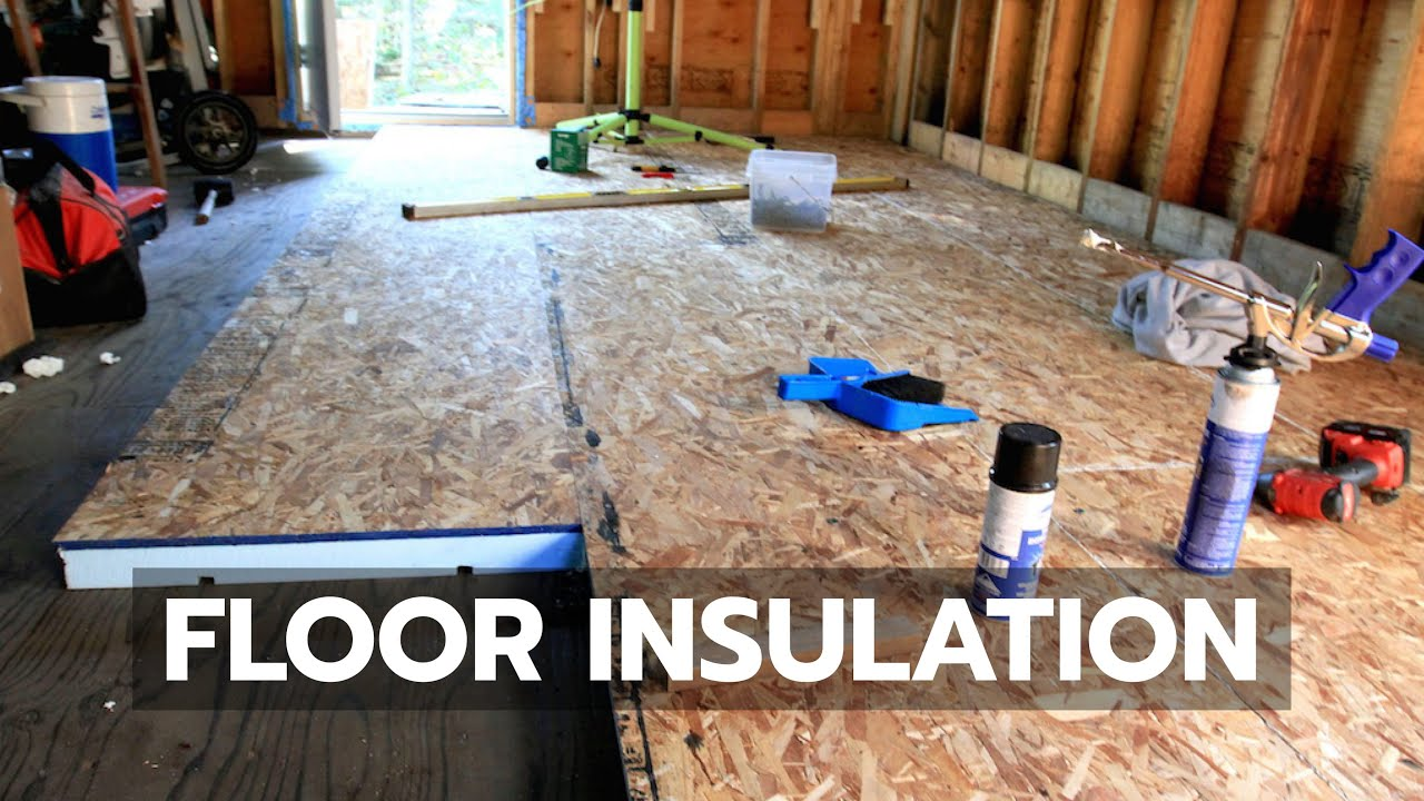 How To Build A Cabin Floor Insulation