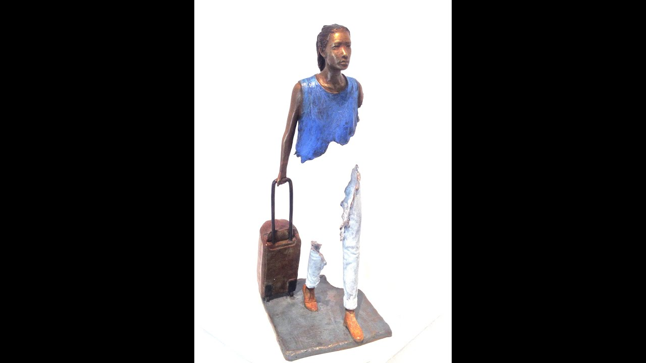 bruno catalano bronze art sculpture de medicis gallery paris youtube. Black Bedroom Furniture Sets. Home Design Ideas