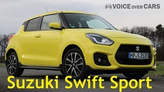 2019 Suzuki Swift Sport Fahrbericht Test Review Meinung Kritik Deutsch German Voice over Cars