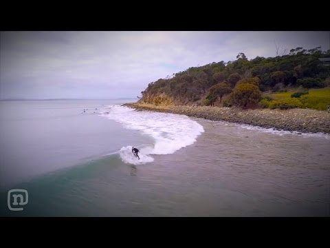 Tasmanian Surfer Rides Epic Runner for Over a Minute