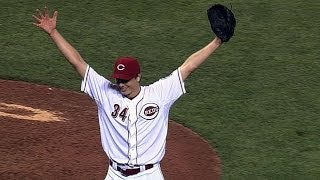 Homer Bailey no-hits Giants for his second career no-hitter