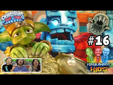 Lets Play Skylanders Trap Team: Chapter 16 - The Golden Desert w/ Grave Clobber & Bone Chompy