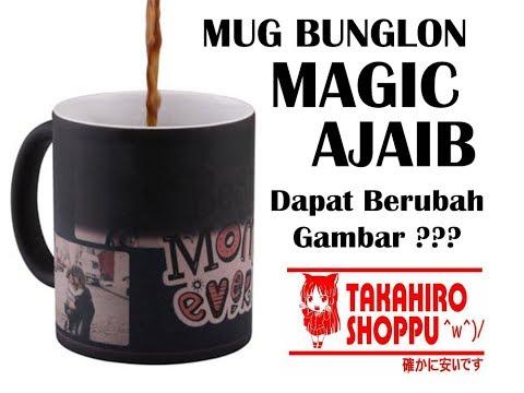 Review Cara Pembuatan Mug Magic Bunglon