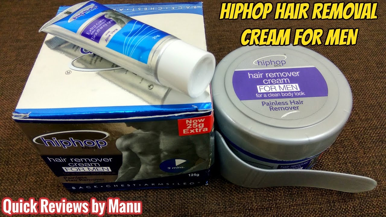 Hiphop Hair Removal Cream For Men Product Review Youtube