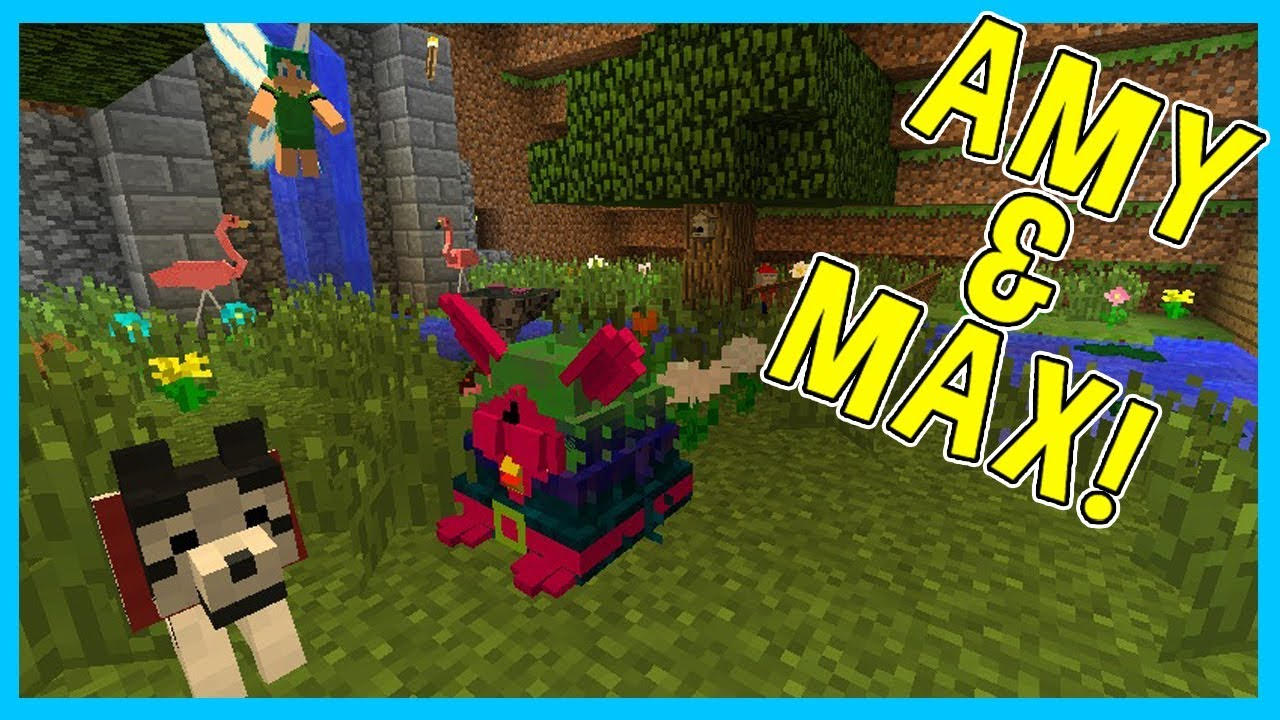 Amy Amp Max Ep11 THE SECRET GARDEN Minecraft Amy