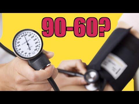 Es 96 sobre 60 una buena presión arterial