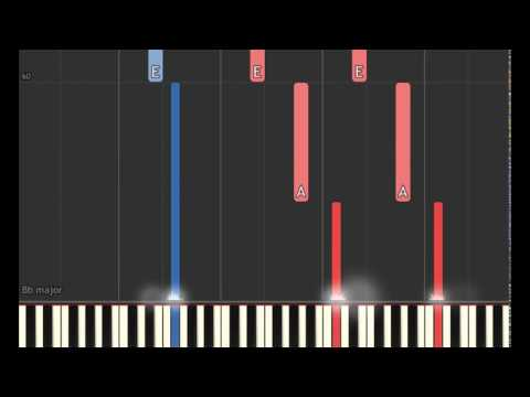 Beauty and the Beast Soundtrack: Days in the Sun (Piano sheet & Synthesia)