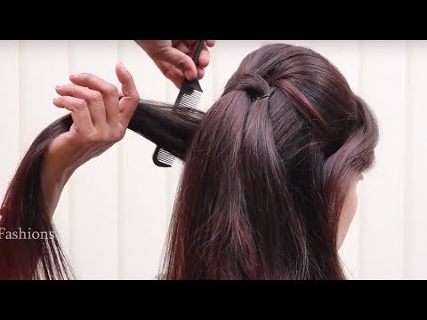 Beautiful Bridal Hairstyles Tutorial || Step by Step Christian Bridal Hairstyle || hair style girl
