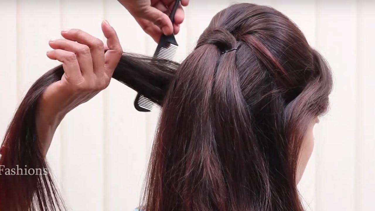 Beautiful Bridal Hairstyles Tutorial Step By Step