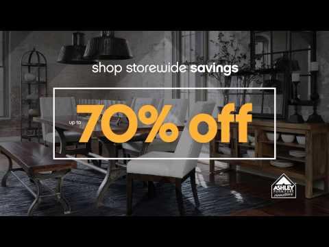 Ashley Furniture Homestore's National Sale & Clearance