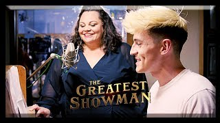 Video The Greatest Showman | 'This Is Me' - Piano Cover ft. Keala Settle + Hugh Jackman interview download MP3, 3GP, MP4, WEBM, AVI, FLV Maret 2018