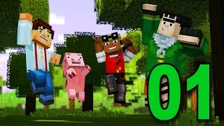 Minecraft: A Toy Story w/Mitch& Friends Part 1 - Let The Adventure Begin :)