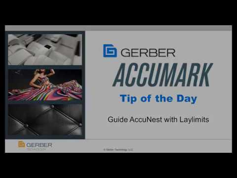 Tip of the Day - Guide AccuNest with AccuMark Laylimits