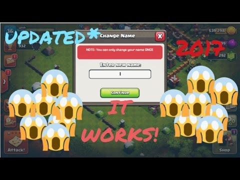 How to change name UNLIMITED TIMES in Clash of clans? GURANTEE WORKS! WITH PROOF! MUST WATCH!