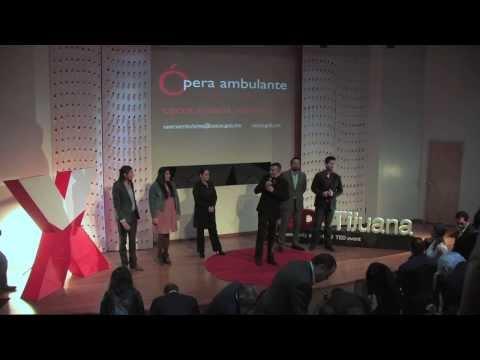 Ambulantaje: Cultura en movimiento: Mario Montenegro at TEDxTijuana