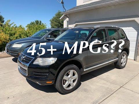 Max MPGs 2009 VW Touareg TDI