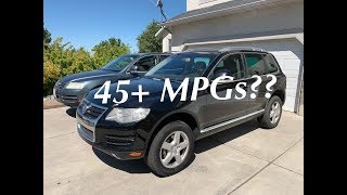 How to replace adblue def diesel exhaust fluid to vw touareg