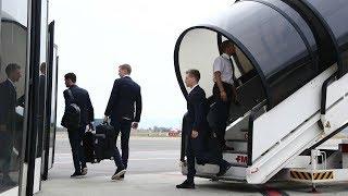 Η πτήση του Ολυμπιακού για το Τορίνο! / Olympiacos's flight to Turin!