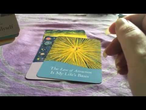 New Law of Attraction Cards !