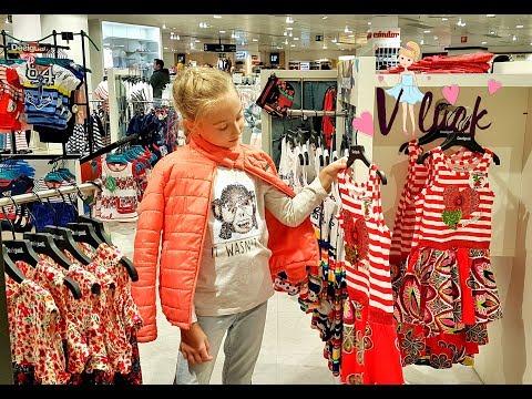 МОЯ НОВАЯ ОДЕЖДА /  Влада покупает одежду / ШОППИНГ В БАРСЕЛОНЕ