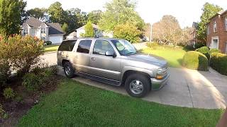 2002 Chevrolet suburban Lt owner review test drive walkaround