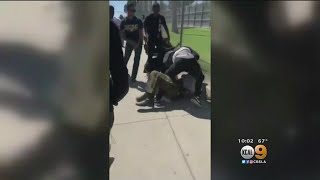 School Officer Attacked By Student While Attempting To Break Up Fight