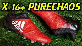 cheaper 0f4bb 17121 Adidas X16+ PureChaos (Red Limit Pack) - Review + On Feet - Vloggest