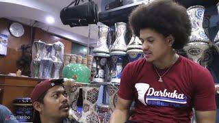 Ali kribo (master darbuka) GREBEK toko alat musik islami kali malang