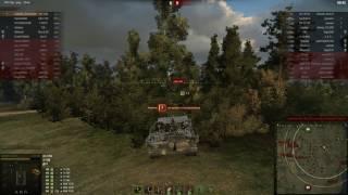 Strv 103B , 8 тысяч урона, медаль пула, захватчик