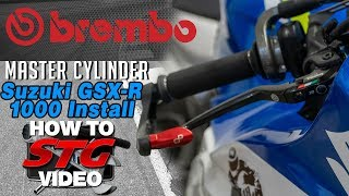 brembo 19mm RCS Corsa Corta Radial Brake Master Cylinder Install Review  Sportbike Track Gear